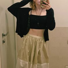 Iced Cappuccino, Skater Skirt, Crop Tops, Photo And Video, Skirts, Instagram, Women, Fashion, Moda