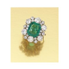 EMERALD AND DIAMOND RING | Lot | Sotheby's