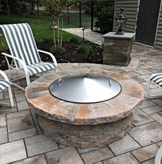 "Stainless Steel 42"" Conical Shaped dome cover. Order at http://www.MinnesotaFirePit.com"
