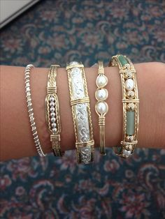 Gorgeous Ronaldo bracelets. I seriously want every single one of these!!!!  Village Jewelry and Sports Butler, AL