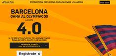 el forero jrvm y todos los bonos de deportes: betfair Barcelona gana Olympiacos supercuota 4 Eur...
