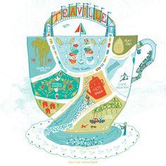 Teaville on Behance