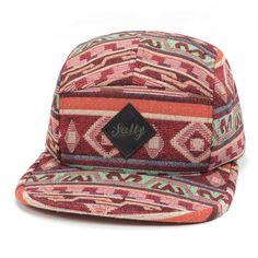 RED  Hot Sale Geometric 5 Panel Snapback Hats Leather Label Baseball Gorras Hats Sports Hip Hop Headwear for Men and Women