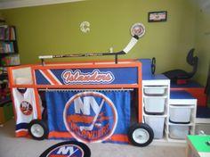 New York Islanders Zamboni Bed
