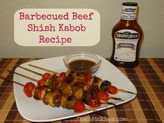 Barbecued Beef Shish