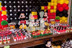 mesa festa do mickey - Google Search
