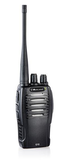 Talkie-Walkie Midland G10 Distribué par Alan-France http://www.alanfrance.net/index.php/best-of-midland/talkie-walkie-radios-midland/pmr446-pro/talkie-walkie-g10-nouveaute