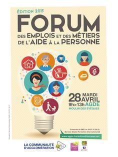 Forum des emplois et des métiers de l'aide à la personne de la communauté d'agglomération Herault Méditerranée