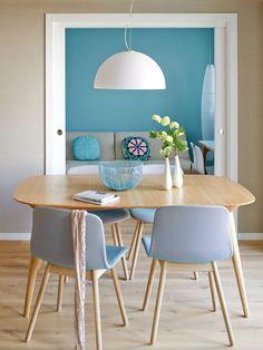 Un appartement élégant aux notes bleues
