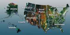 Interactive map on the science of climate change and the impacts of climate change on the United States