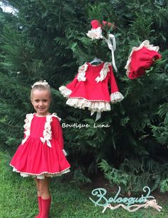 BOUTIQUE LUNA Dresses Kids Girl, Cute Girl Outfits, Kids Outfits, Flower Girl Dresses, Kids Girls, Cute Girls, Boutique, Baby Design, Fall Dresses