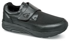 """The new """"LaJolla"""" stretch shoe from """"InStride"""" has three removable footbed inserts. Stretchable nylon vamp. Sizes 7–12, 13 in 4E and 6E."""