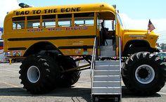 Monster School Bus.