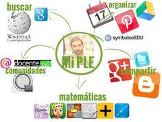 El diagrama de mi PLE #eduPLEmooc #eduPLEdiagramas