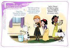 Disney Princes Funny, Funny Disney Jokes, Funny Princess, Disney Princess Cartoons, Disney Memes, Disney And Dreamworks, Disney Cartoons, Disney Characters, Pocket Princesses