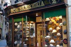 Sombreria Obach, Barcelona Stationary, Barcelona, Shopping, Fashion, Moda, Fashion Styles, Barcelona Spain, Fashion Illustrations, Fashion Models