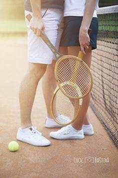 Tennis Engagement Session  Lucie Baštová Foto pro radost