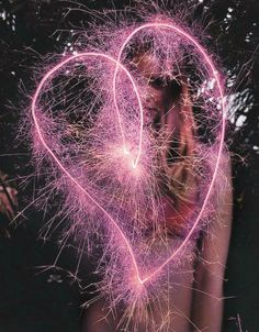 Hearts on fire. #HoneyBPink