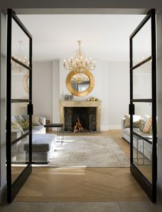 Dubbele stalen taatsdeur by Frank van den Boomen deuren i.s.m. JVR Design