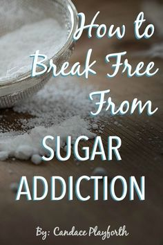 Do you struggle with sugar addiction? Studies have shown not only what sugar does to the health of our bodies and minds but also the difficulty of breaking free from its tight grasp. Learn how you can find freedom and recovery today.
