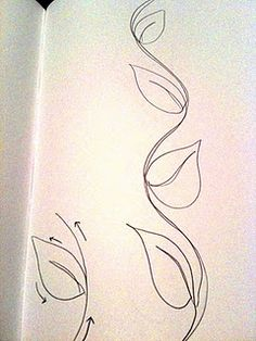Free motion leaf  source:  Christina @ A Few Scraps