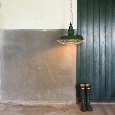 Hanglamp Strijp L petrol, nu met 50% korting! Kerstmarkt bij lampenlicht.be