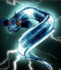The Psycho Electric Eel trope as used in popular culture. Electric Eels are cool. Dude, they're animals but they have electric powers! They're like real-life … Eel Sushi, Electric Eel, Horoscope Reading, Tv Tropes, Popular Culture, Electronic Music, Power Rangers, Leg Tattoos, Art Reference