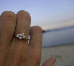 Great White Shark Ring - Ocean Jewellery by Sophie Jade Jewellery