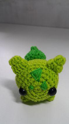 Bulbasuar - Fushigidane Pokemon Free Amigurumi Crochet Pattern