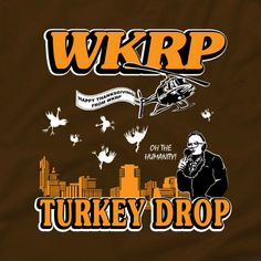 Just in time for Thanksgiving, and a little Cincinnati WKRP in Cincinnati: