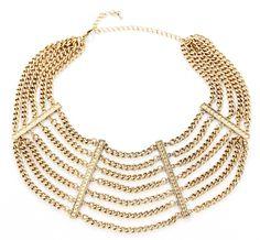 "Sole Society ""Layered Chain Collar"", $Array"
