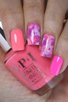 OPI Neon Fluid Nail Art Opi, Nail Colors, Nail Polish, Nail Art, Neon, Nails, Inspirational, Beauty, Finger Nails
