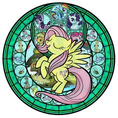 Fluttershy meets Kingdom Hearts!