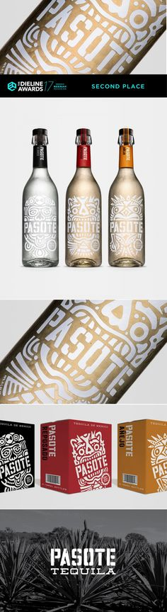 The Dieline Awards 2017: Pasote Tequila — The Dieline | Packaging & Branding Design & Innovation News