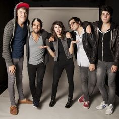 We Are The In Crowd- Jordan Eckes, Rob Chianelli, Taylor Jardine, Mike Ferri, and Cameron Hurley!!!