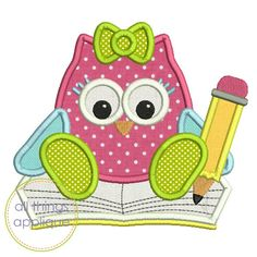 Owl with Book and Pencil – ATA.bmp  LP FUNDRAISING BUNDLE 4
