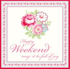 Greengate Weekend Greeting