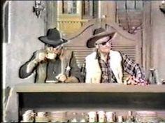 Red Skelton And John Wayne, this is funny.