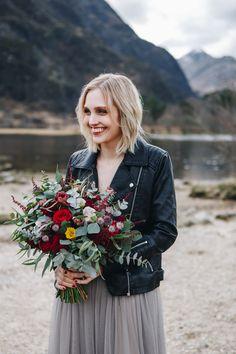 Wild flower bouquet by Lizzie Thorne Flowers. A beautiful elopement in Scotland. Wedding Dreams, Dream Wedding, Scotland Nature, Scottish Elopement, Bridal Bouquets, Boho Wedding, Wild Flowers, Liberty, Bloom