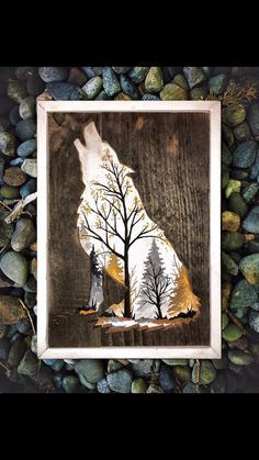 White Wolf by Woodensense on Etsy