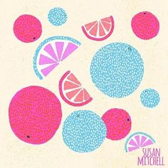 Susan Mitchell (@susanmitchellillustration) • Instagram photos and videos Pink Fruit, Fruit Illustration, Fun Projects, Kylie Jenner, Kids Rugs, Photo And Video, My Love, Create, Videos