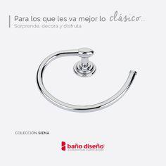 #Accesorio #clásico y #elegante de la colección SIENA #baño #complementos #accesorios #decoración #toallero