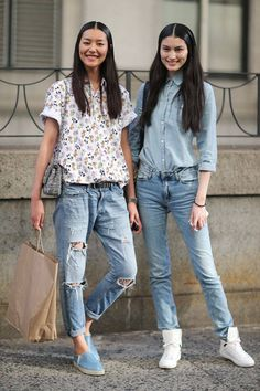 Spring is in the air - get inspired by these New York street style snaps.