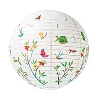 Flowers of spring - Paper lantern - Little Big Room by Djeco, Discover all the Little Big Room decoration items for child's bedroom.