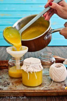 Coconut Curd Recipe @ Not Quite Nigella Coconut Curd Recipe, Coconut Jam, Coconut Recipes, Jam Recipes, Canning Recipes, Sweet Recipes, Dessert Recipes, Healthy Recipes, Fruit Recipes