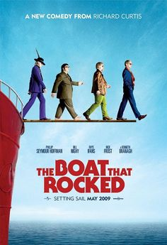 """The Boat that Rocked [2009] - """"Cuz if you shoot a bullet, someone dies. When you drop a bomb, many die. You hit a woman, love dies. But... if you say the f-word, nothing actually happens."""""""