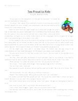 Too Proud To Ride -Second Grade Reading Comprehension Test: Use the information in the storytoanswerthe 5 comprehension questions. Answer Key IsIncluded.    Too Proud To Ride-SecondGrade Reading Comprehension Test – Click Here    Information: Second Grade Reading Comprehension. 2nd Grade Reading Comprehension Test Practice Worksheet.