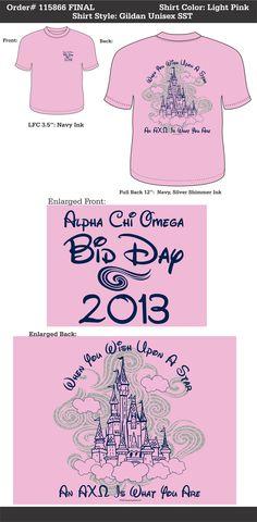 ed0ee76e733864 Alpha Chi Omega Bid Day http   www.greekt-shirtsthatrock.com