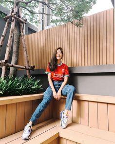 "new kit ""Nike"" 2020/21, Liverpool supporter, Thai actress Liverpool New Kit, Football Fans, Mom Jeans, Actresses, Pants, Nike, Fashion, Female Actresses, Trouser Pants"