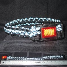 Blue and Black 16 Reflective Paracord and Bungee by StellaHudson33, $18.00